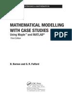 Solucionario de los modelos matematicos con estudios de casos