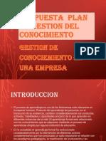 PROPUESTA  PLAN DE GESTION DEL CONOCIMIENTO ANDREA.pptx