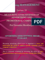 Measuringm Adv Affectiveness