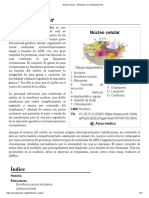 Núcleo celular - Wikipedia, la enciclopedia libre.pdf