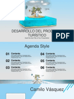 Travel and Vacation PowerPoint Template
