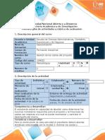 Guía de actividades y rúbrica de evaluación - Paso 3 - Estimar los costos y determinar el  presupuesto.docx