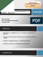 evaluación preoperatoria geriátrica