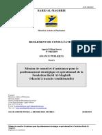 AOO 106-2019 positionnement Stratégique et opérationnel de la fondation BAM  - RC.pdf