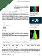 Percepción del color - Wikipedia, la enciclopedia libre.pdf