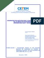 Cianuracion Por Agitacion - Caso en Ecuador