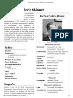Burrhus Frederic Skinner - Wikipedia, la enciclopedia libre.pdf