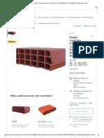Bovedilla Cerámica 16.5x25x40