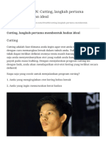 NO PAIN NO GAIN  Cutting, langkah pertama membentu+.pdf