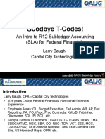 Collab09 Larry Baugh Slides Goodbye Tcodes an Intro to r12 Subledger Accounting for Federal Financials