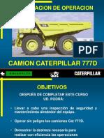 CAMION CAT777D OP..ppt