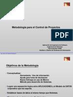 a - Presentación Metodologias parte 1 Control de Proyectos.ppt