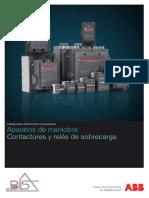 Catálogo Contactores y Relés de Sobrecarga