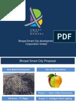 Smart City Bhopal - PAN CITY PROJECTS