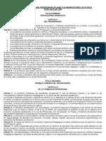 REGLAMENTO DE LA LEY DEL PROFESORADO Nº 24029 Y SU MODIFICATORIA LEY Nº 25212.pdf