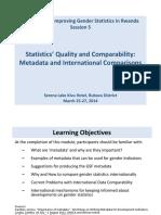 Rwanda Session 5-Metadata-Gender Stats Training-LF-March-26-2014.pptx