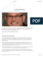 Todd Dewett – The Case for Authenticity - ManageMagazine