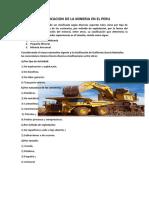 CLASIFICACION DE LA MINERIA EN EL PERU.docx