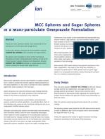 Mcc Spheres vs Sugar Spheres JRS