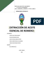 Extraccion de Aceite Esencial de Romero.docx