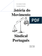 História do Movimento Sindical Português