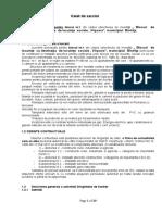 Caiete de Sarcini Bl.1 Viisoara Dirigentie