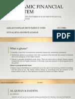 Gharar and its presence in modern financial transaction (Aqilah & Allieya)