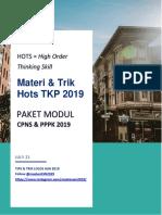Materi & Trik Hots TKP 2019