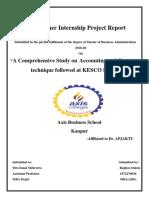 Training Report at Kesco