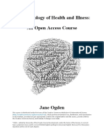 Ogden - The Psychology of Health and Illness_2019