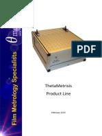 ThetaMetrisis ProductLine