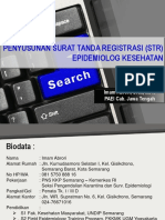 PENYUSUNAN SURAT TANDA REGISTRASI (STR) EPIDEMIOLOG.pptx