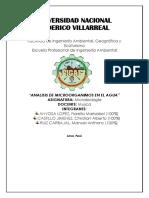 Laboratorio Analisis Microbiologico Del Agua