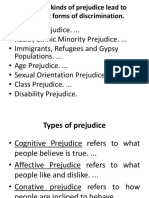 Prejudice and Maslows Hierarchy of Needs