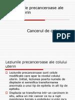 Prezentare Leziunile Precanceroase ale Colului Uterin.ppt