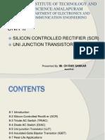 EDC U-2 SCR&UJT.ppt