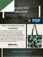 Norquest Brands Pvt Ltd   custom bag manufacturer