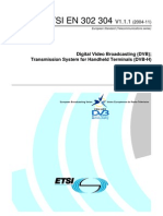 DVB-H Specification - En302304.V1.1.1