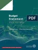 Ksa Budget 2020