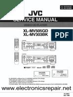 Jvc Xl Mv303bk