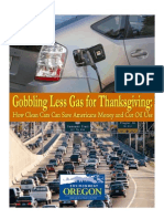 EO Gobbling Less Gas for Thanksgiving Report