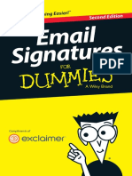 EMail Signature for Dummies