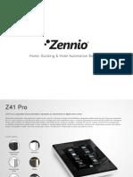Zennio Catalogo 2016 En
