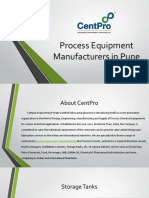 Process Equipment Manufacturers in Pune-CentPro