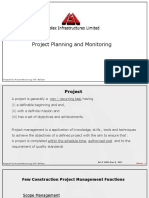 Project Planning & Monitoring