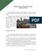 Relatório Da Visita de Estudo - Edificio UPTEC