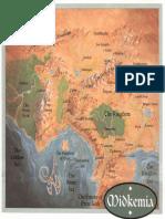 Betrayal at Krondor Map