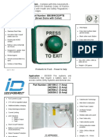 Access control datasheets