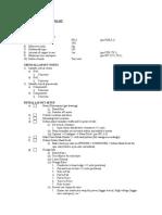 Layout checklist