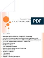 Finance d'Entreprise - 2 - Accounting for Managers and Investors